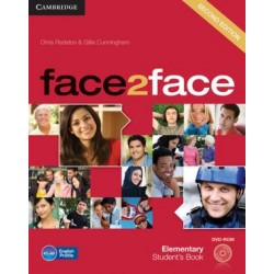 face2face 2ed Elementary Student's Book + DVD-ROM