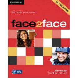 face2face 2ed Elementary Workbook with key