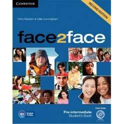 face2face 2ed Pre-Intermediate Student's Book +DVD