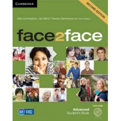 face2face 2ed Advanced Student's Book + DVD-ROM