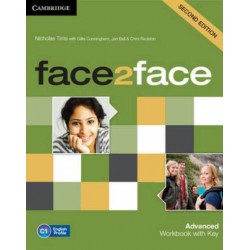 face2face 2ed Advanced Workbook with Key