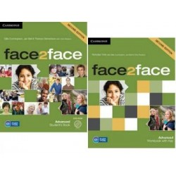 face2face 2ed Advanced komplet SB + WB