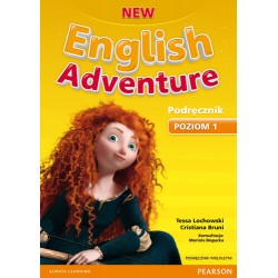 NEW ENGLISH ADVENTURE 1 PODRĘCZNIK WIELOLETNI +CD
