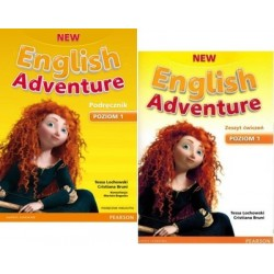 NEW ENGLISH ADVENTURE 1 KOMPLET WIELOLETNI