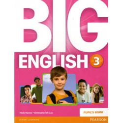 BIG ENGLISH 3 PODRĘCZNIK PEARSON